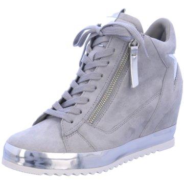 Gabor comfort Sneaker Wedges grau