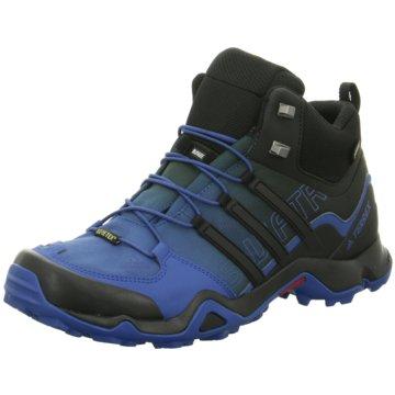 adidas Outdoor SchuhTerrex Swift R Mid GTX Herren Outdoorschuhe blau schwarz blau
