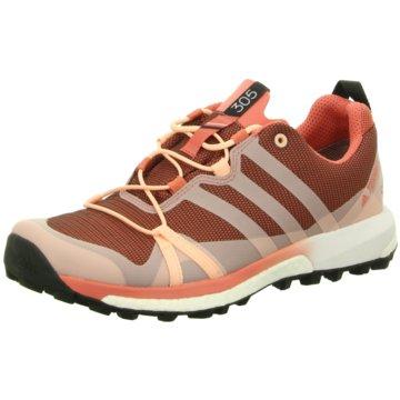 adidas TrekkingschuheTerrex Agravic GTX Damen Outdoorschuhe Trail Running pink braun
