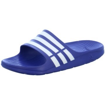 adidas BadelatscheDuramo Slide blau