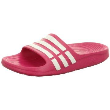 adidas Offene SchuheDuramo Slide K pink