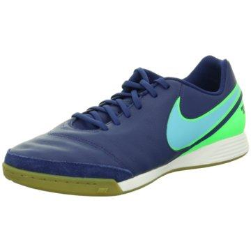 Nike Hallen-Sohle blau