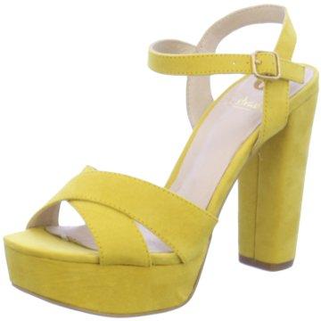 La Strada High Heels gelb