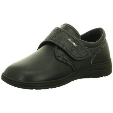 FARGEOT Komfort Slipper schwarz