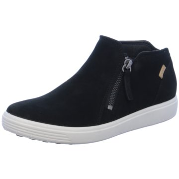 Ecco Sneaker HighSoft 7 schwarz