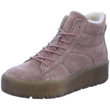 Tamaris Sneaker High rosa