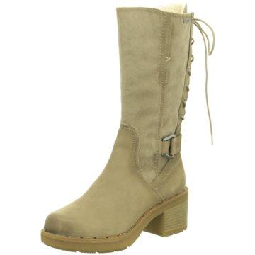 Tamaris Klassischer Stiefel beige