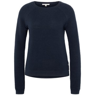Tom Tailor Strickpullover blau