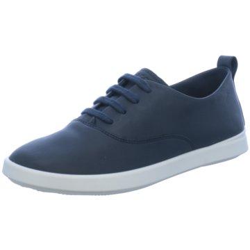 Schuhe ecco blau
