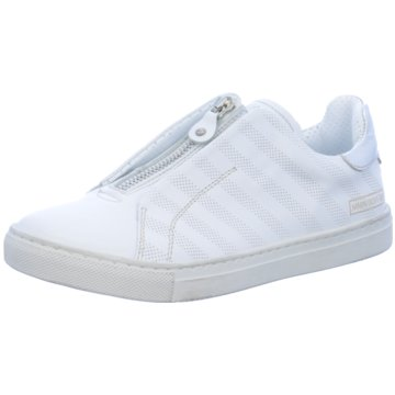 Momino Sportlicher Slipper weiß