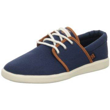DC Shoes Klassischer Schnürschuh blau