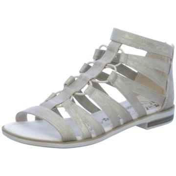 s.Oliver Offene Schuhe silber