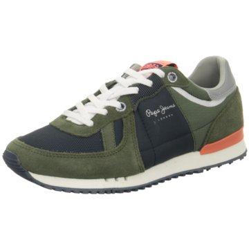 Pepe Jeans Sneaker Low grün