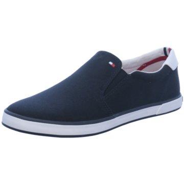 Tommy Hilfiger Klassischer SlipperIconic Slip On Sneaker blau