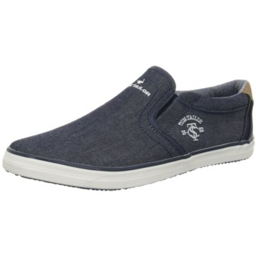 Tom Tailor Klassischer Slipper blau