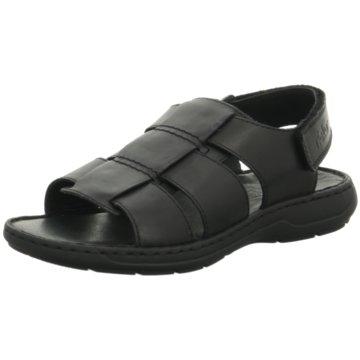 Rieker Komfort SchuhZehentrenner schwarz