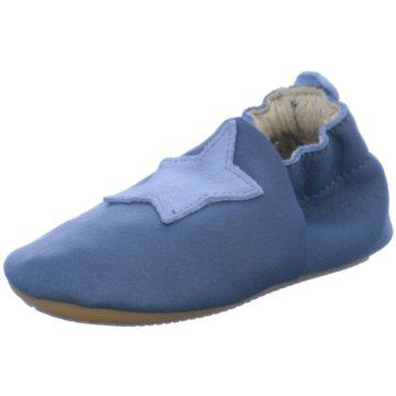 Däumling Krabbelschuh blau