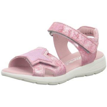 Däumling Offene Schuhe lachs