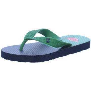 Joules Offene Schuhe blau