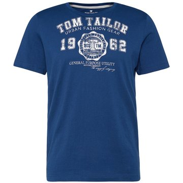 Tom Tailor T-Shirts print blau