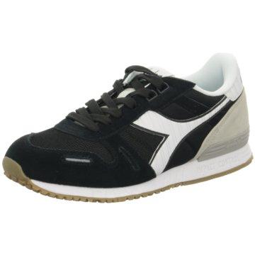 Diadora Sneaker Low schwarz