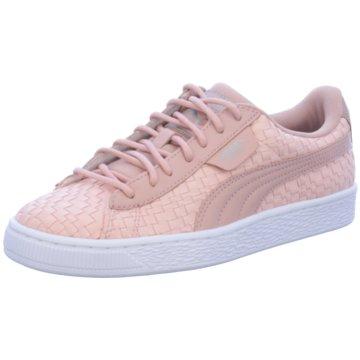 Puma Sneaker LowBasket Satin EP rosa