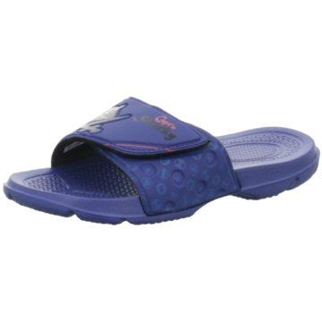 Pölking Offene Schuhe blau