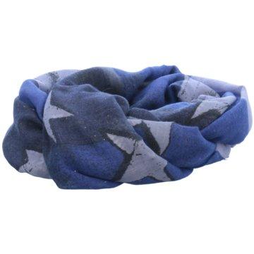 Cartoon Tücher & Schals blau