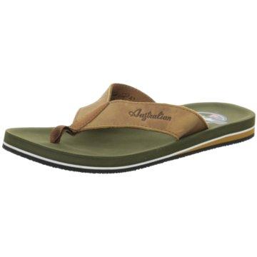 Australian Footwear Zehentrenner braun