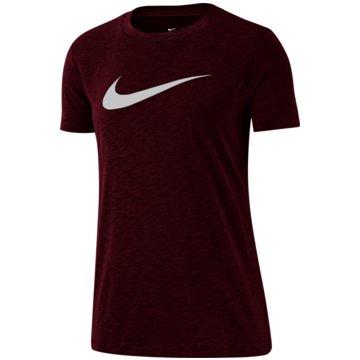 Nike T-ShirtsNike Dri-FIT Women's Training T-Shirt - AQ3212-638 rot