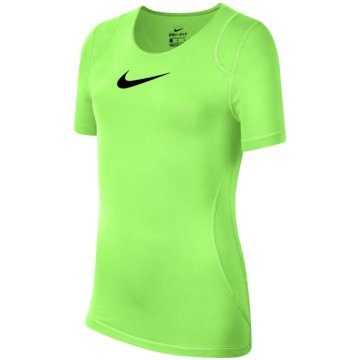 Nike T-ShirtsNike Pro Big Kids' (Girls') Short-Sleeve Top - AQ9035-701 -