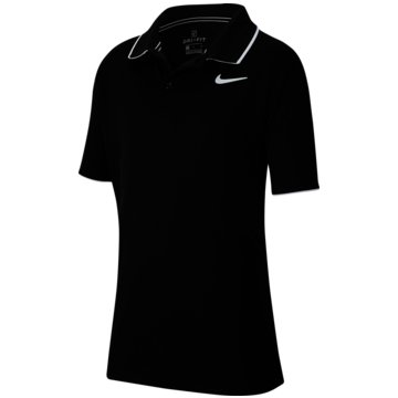 Nike PoloshirtsNikeCourt Dri-FIT Big Kids' (Boys') Tennis Polo - BQ8792-010 schwarz