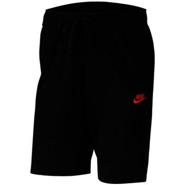 Nike kurze SporthosenSPORTSWEAR CLUB FLEECE - BV2772-013 schwarz