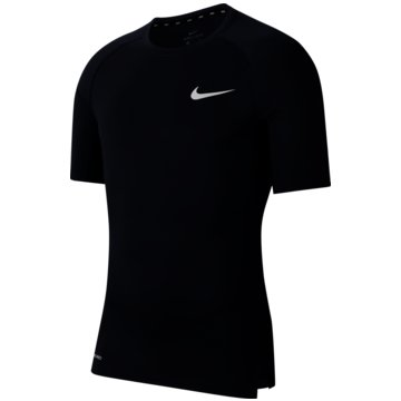 Nike T-ShirtsNike Pro Men's Tight Fit Short-Sleeve Top - BV5631-452 -