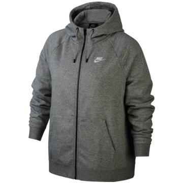Nike SweatjackenSPORTSWEAR ESSENTIAL (PLUS SIZE) - CJ0401-063 grau