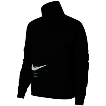 Nike Laufjacken schwarz