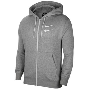 Nike SweatjackenNike Sportswear Swoosh Men's Full Zip Hoodie - CU3901-063 grau