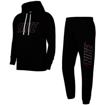 Nike JogginganzügeNike Sportswear Club Men's Hooded Fleece Tracksuit - CU4323-010 schwarz
