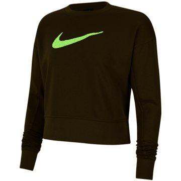 Nike SweatshirtsDri-FIT Get Fit Women's Swoosh Training Crew - CU5506-368 schwarz