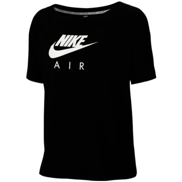 Nike LangarmshirtAIR - CU5558-010 schwarz