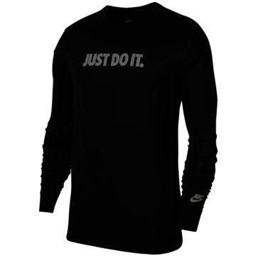Nike LangarmshirtSPORTSWEAR JDI - CU7406-010 schwarz
