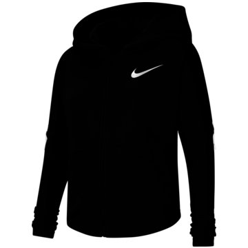 Nike SweatjackenNike Big Kids' (Girls') Full-Zip Training Hoodie - CU8245-010 schwarz