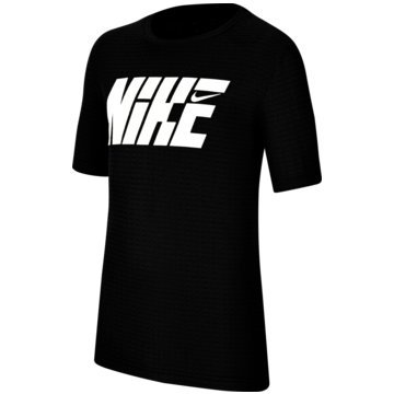 Nike T-ShirtsNike Graphic Big Kids' (Boys') Short-Sleeve Training Top - CU9115-010 schwarz