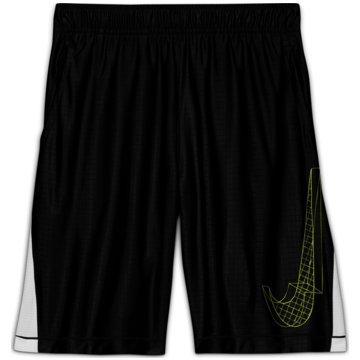 Nike Kurze SporthosenDRI-FIT GRAPHIC - DA0258-010 schwarz