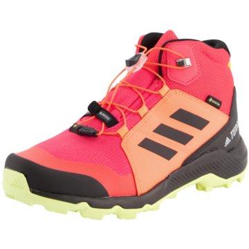 adidas Wander- & Bergschuh rot