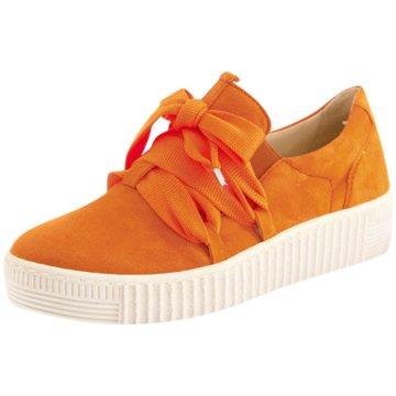 Gabor Sportlicher Slipper orange