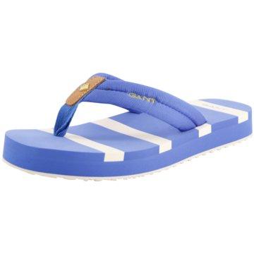 Gant Bade- Zehentrenner blau