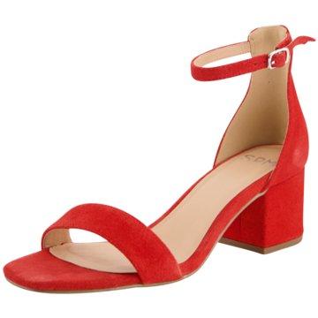 SPM Shoes & Boots Top Trends Sandaletten rot