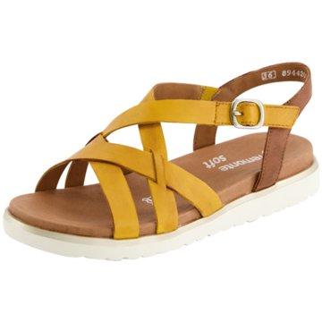 Remonte Sandale gelb