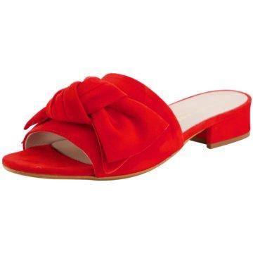 Gianluca Pisati Klassische Pantolette rot